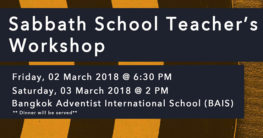 Sabbath School Teachers Workshop
