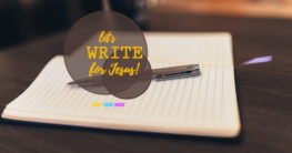 let us write for Jesus