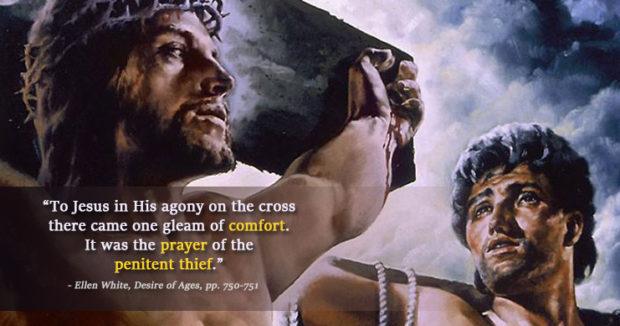 prayer of the penitent thief