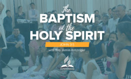bic sermon baptism of the holy spirit